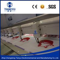 10 Heads Towel Chain Stitch Chenille Computerized Embroidery Machine