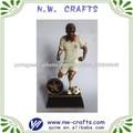esporte futebol de resina estátua figura