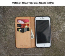 luxury wallet leather case for mobile with card slot wallet style