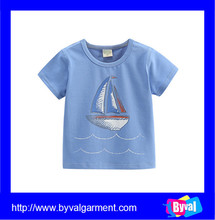 Kids summer clothes Children boy printed cotton t-shirts girl tees shirt high quality wholesale