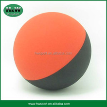 Colorful hollow rubber bounce toy ball