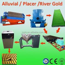 Alluvial Gold Equipment For Mining Processing Line