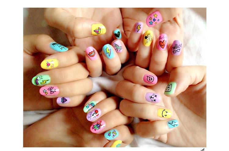 Рисунки на ногтях для беременных фото 7