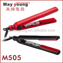 """Hot sell 1"""" ceramic flat iron hair straightener"""