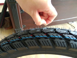 cheap high quality motorcycle tire and tube (own factory)