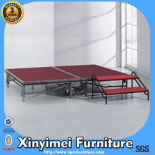 2014 New Stainless Steel Mobile Stage XYM-P08