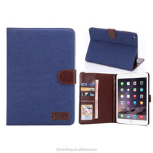 PU leather flip case with stand smart cover case for ipad mini 3