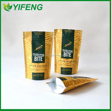 MEAT Plastic packaging/frozen sea food bag/frozen fish packaging bag