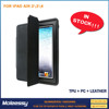 High Quality Fashion leather compendium for ipad 234 case