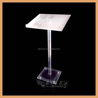 Fashion cheap acrylic lectern,high quality portable lectern in bulks