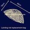 Commercial fishing rubber dip net