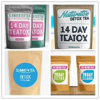THE BEST RATED Detox Tea On Amazon For Weight Loss + Body Cleanse + Appetite Control Easy E-Z Herbal Weight Loss Tea
