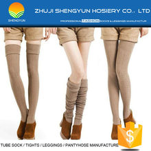 wholesale women and young cute teen girl tube socks knee high sock compression tights women's tights keen high socks manufacture