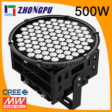 waterproof led spot lights 500w 50000lm fora Top building projection