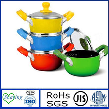 Chinese high quality ceramic coating cooking pot