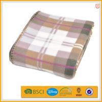 promo no sew checkered tie dye fleece blanket kits