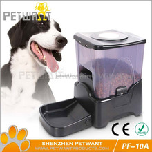 Timed programmable animal food feeder PF-10A large feeder auto for dogs