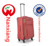 chinese red,wheeled spinning, high quality nylon luggage