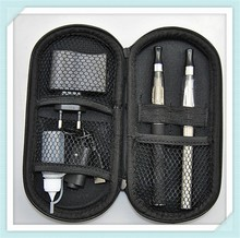 Newest China e cigarette ce4 double kit ego zipper case plastic pencil case with zipper from Siluomei