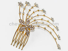 2015 new Fashion beautiful hair accessory made with Diamond