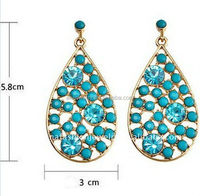 Best quality latest chandelier clip on earring