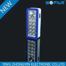 High Brightness Battery Powered 1w 3*AA battery LED Emergency Lamp