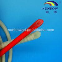 reinforced silicone tube , fiberglass silicone tube , fiberglass silicone tubing