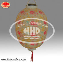 handmade pottery lamp decoration