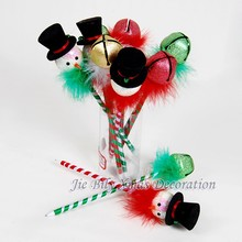 Hot Sales Ball Pen Snowman Decoration GIfts Christmas Crafts Plastic Ball Pen