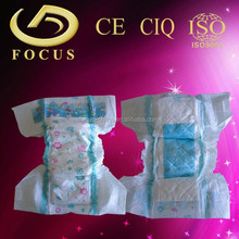 Disposable baby love diapers for baby with velcro tape
