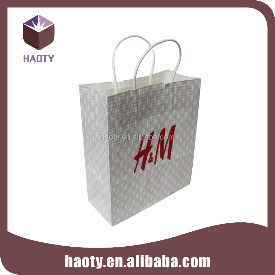 Custom paper gift paper bag tissue paper bag t shirt for Personalized t shirt bags