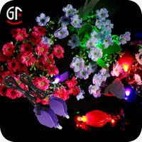 Halloween Decoration Cool Novelty Gifts Led Fiber Optic Flower Light