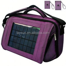 Hot selling and most charming solar power charger bag for cell phone