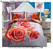 2015 Luxury european 3d printing duvet cover set
