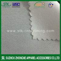 Plain Weave Woven interlining fusing fabric for garment