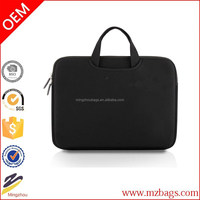 2015 fashionable waterproof Laptop sleeve case Nylon Lycra Fabric Laptop / Notebook Computer /Briefcase Bag