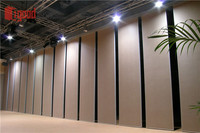 Shunde sliding folding acoustic partition factory