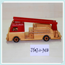 wooden automobile collectible---truck crane