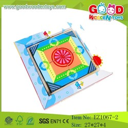 ODM & OEM Children Wooden Puzzle Blocks,Educational Cube Puzzle Toys,Kids Puzzle Blocks