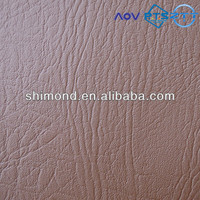 Natural Style Embossed Soft PVC Leather For Sofa and Furniture