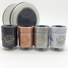 Top quality carbon fiber troll atomizer clone/troll RDA with fast shipping