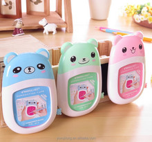 cute cartoon bear classicial office&school correction tape with writing board