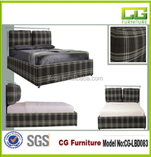 cheap Cloth art bed frame fabrication of bed
