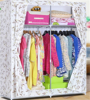 Nonwoven fabric clothing wardrobes for bedroom