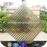 Lexan polycarbonate embossed double layer tile