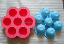 FDA approved Silicone Baby Food Storage With Lid Set