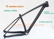 Big Discount ! 29ER Carbon mtb Frame/Toray Carbon Fibre mountain Bike Frame/Frame+Seat Clamp