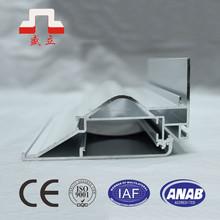 aluminum silver border