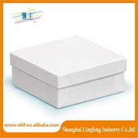 white kraft paper gift box wholesale