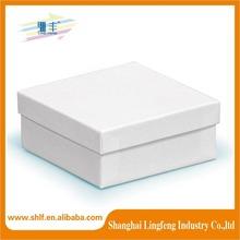 white kraft paper gift box wholesale